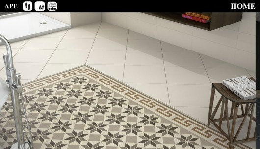 Ambiente Home Collection Floor Tile 20x20
