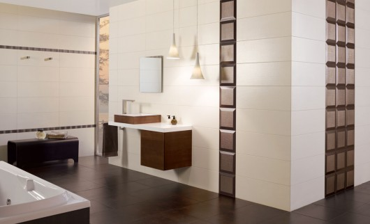 Atelier Beige Bathroom Tile Collection